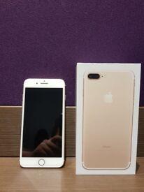 iPhone 7 PLUS 128 GB GOLD UNLOCKED