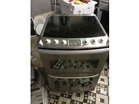 Zanussi Ceramic Plates Electric Cooker With Free Delivery
