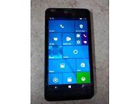 Microsoft Lumia 640 dual sim phone, 5 inch screen, unlocked