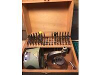 Vintage Burgeon Star Watchmakers Staking Tool Kit