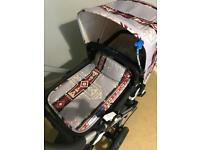 Bugaboo cameleon 3 limited edition hood and apron set