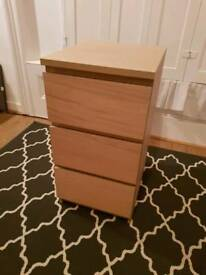 2x MALM Triple Drawers - Excellent Condition