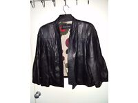 Ladies Leather Jacket from River Island