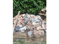 Bricks and rubble