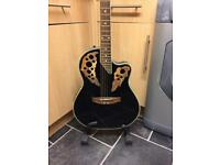 Stagg electro acoustic guitar and amp