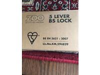 5 lever BS lock
