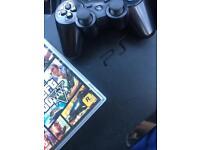 PS3 FULL CONSOLE W/ CONTROLLER , GTA 5 NETFLIX PRELOADED GAMES