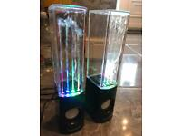 IBoutique Colour Water Speakers.