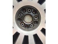 18inch genuine rs8 alloys