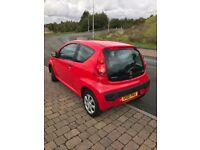PEUGEOT 107, 2011 RED 1.0 PETROL, facelift model!, C1, AYGO!!