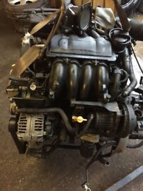 Volkswagen Beetle 2001 1.6 Petrol manual complete engine
