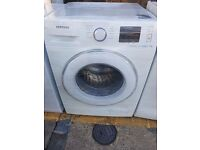 8 KG SAMSUNG ECO BUBBLE WASHER, DIGITAL DISPLAY, EXCE COND, 4 MONTH WARRANTY, FREE LOCAL DELIVERY