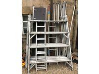 Youngman Boss Ladderspan Scaffold Lyte 6m inc ties wheels boards
