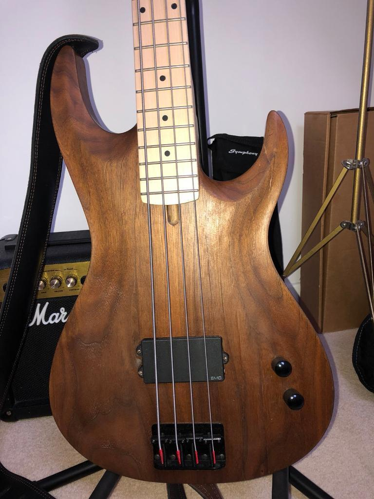 Custom Warmoth/Fender P/J Bass | in Carnoustie, Angus | Gumtree