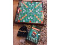 Prestige Edition Scrabble Board Game