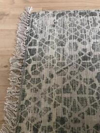 Large grey Heal's Linie Design area rug