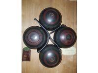 Henselite Bowls Size 5 (4 Bowls)