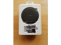 New - Samsung Convertible Wireless Charger & Travel Adapter