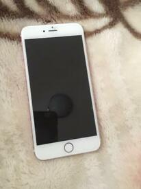 iPhone 6s Plus Rose Gold 64gb, good as new,