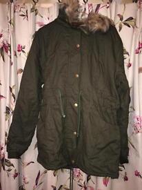 Brand New Parka Coat XL