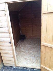 Whole shed storage 6'x4'
