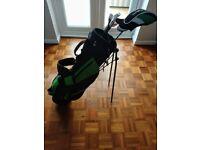 Junior golf club set- Young Gun Green Edition