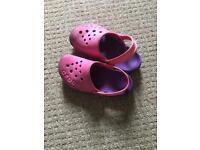 Girls crocs size 11