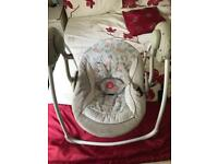 Fisher price comfort and harmony swinging baby chair