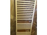 White Electric Towel Radiator