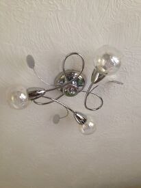 Ceiling lights by Next - excellent condition