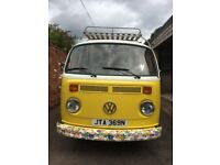 1975 VW Campervan T2 (reasonable offers accepted)