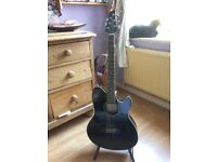 Ibanez TCY10E - BK Electric Acoustic Guitar