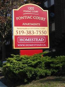 Pontiac Court - 1270 Pontiac - 2 bedroom Sarnia Sarnia Area image 2