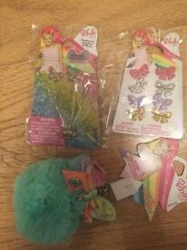 Genuine brand new jojo bow accessories girls hamper (choice of mint green or pink keyring) RRP £25