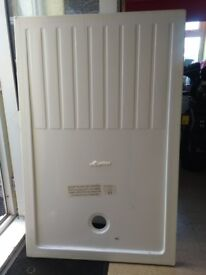shower tray 1400mm x 900mm high density foam type. lighter to handle