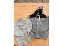Duffer st john M Hoodie and Barracuda Sweatshirt L designer brands