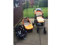 UppaBaby Vista 2014 Pushchair etc