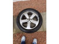 Vauxhall Mokka Spare Wheel & Tyre