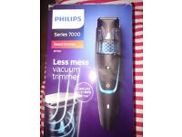 ***Sold***Philips series 7000 bt7202 electric vacuum beard trimmer