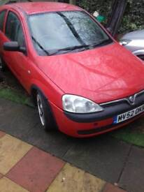 Vauxhall corsa 1.0l for swaps or cash
