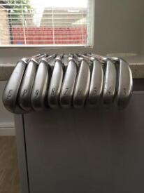 Full set of mizuno mx15 irons SW /3i