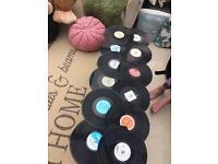 Vintage retro record table