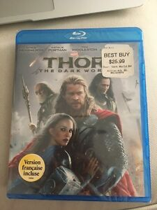 Thor: The Dark World Movie Blu-ray Disc DVD