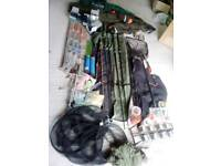 FISHING TACKLE etc garage clearance, market stall,