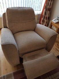 3 Seater Recliner Sofa & Armchair Recliner
