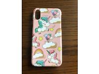 Unicorn iPhone X case!