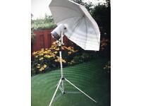 Bowens photographic light equipment