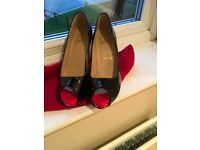 DESIGNER RED SOLE SHOES