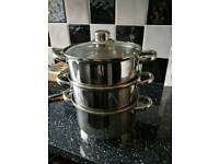 Pot /steamer (brand new)