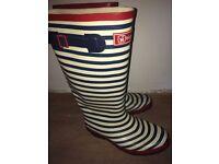 Hi Gear Women's stripe Wellies - Size UK7
